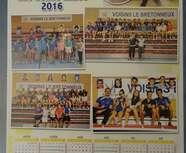 Calendrier 2016 BCV