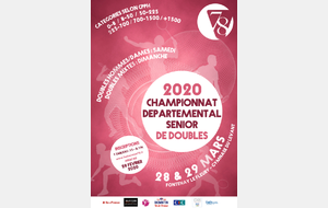 ANNULE - Departemental seniors de Doubles